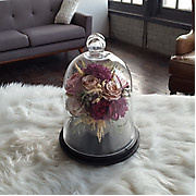 Victorian Cloche For Preserved Flowers