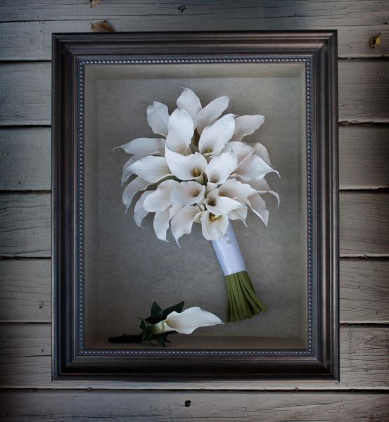 Can White or Cream Wedding Flowers Be Preserved?