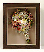 Preserved Wedding Bouquet with Brooch